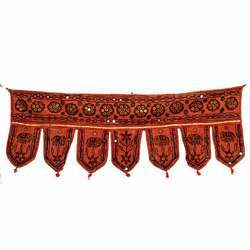 Rajasthani Window Topper Toran & Valence Wall Hanging