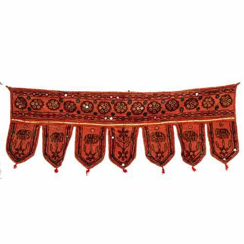 Rajasthani Window Topper Toran & Valence ...