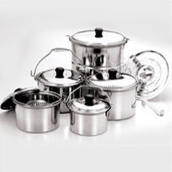 spring steamer cookware set with lifter