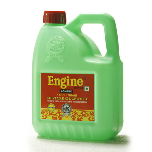 Engine Mustard Oil Kacchi Ghani 5 Ltr Jar