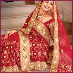 Wedding+Dulhan+Sarees