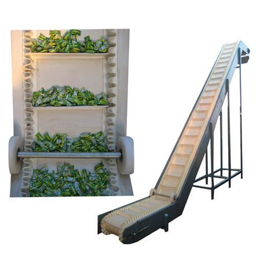 Side Wall Cleated Belt Conveyors