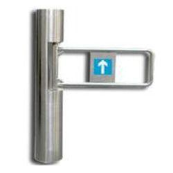 single flap barrier