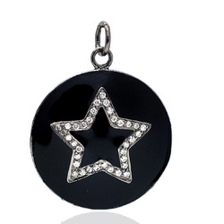 Designer Diamond Star Pendant