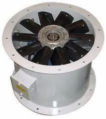 Axial Roof Mounted Fan