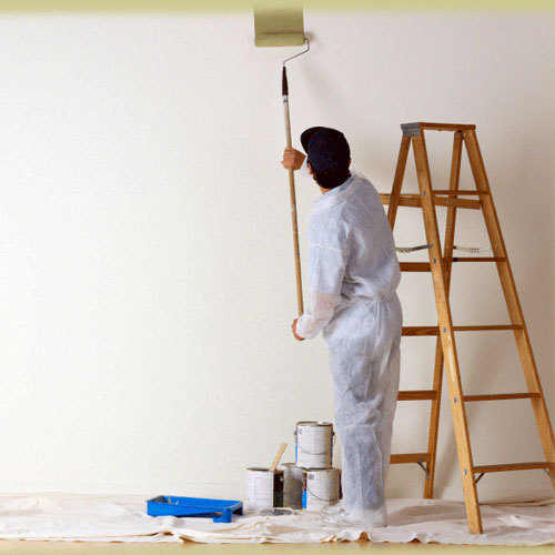 Wall Finishing Services : Wall coating services building
