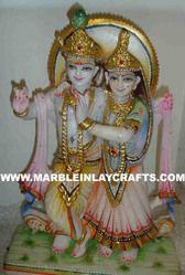 Marble Radha Krishna Jugal Jodi