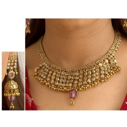 Bridal Uncut Diamond Jewellery Sets