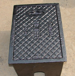 Cast Iron Hydrant Box-1