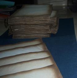 Eco Friendly Old Look Vintage Papers