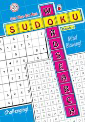 Word Search Sudoku Book 2