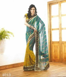 Models Wear Sarees