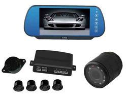 Video parking sensor with 7 inch monitor and night vision camera