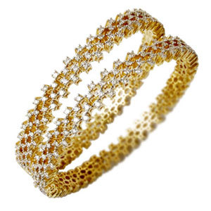 Diamond Indian Bangles