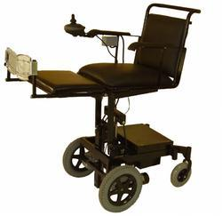 Motorized Seat Up- Down Wheelchair