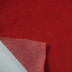 cotton velour single dye fabric