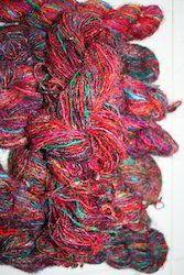 Sari Silk Yarns In Multicolors