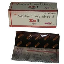 zolpidem tartrate mode of action