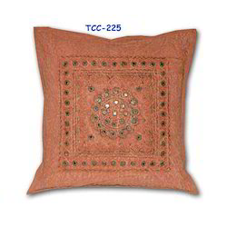 Zardozi Hand Embroidered Cushion Cover