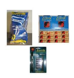 Zorrik Range Of Shaving Products
