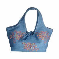 Blue Jeans Denim Bootie Bag Purse — craftbits.com