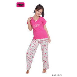 Girls Knitted Pajamas