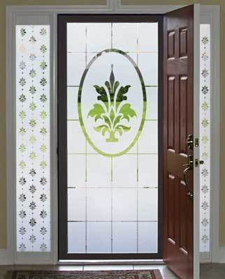 Charmant Decorative Door Glass