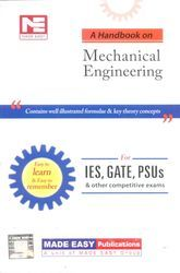 A Handbook On Mechanical Engineering Book