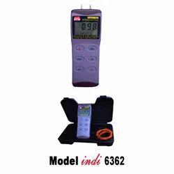 digital pressure cum vacuum gauge