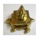 Panchadatu Meru Kashyap Shree Yantra 24 Carat Gold Plated