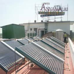 Manifold Solar Water Heaters