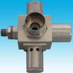 emergency oxygen flash valve
