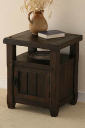Baku Dark Solid Mango  Bedside Table & Nights Stands