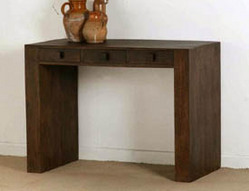 Mantis Dark Solid Mango  Dressing Table & Laptop Table