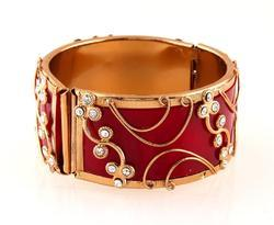 Gorgeous Gold Plated Bangle