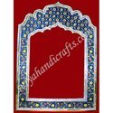 White Metal Meena Painting Frame