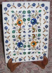 Inlaid Marble Plate