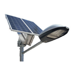 Solar Street Lighting System With Dusk-Dawn Control