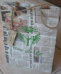 Eco Friendly Paper Bags From Old News Paper