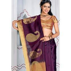 Ethnic Pallu Printed Saree