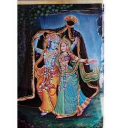 Krishna Radha Stylish Painting