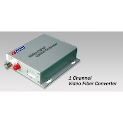 Single Channel Video Fiber Converter