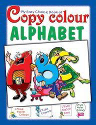 My Easy Choice Copy Color Alphabet Books
