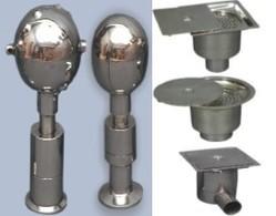 spray balls drain traps