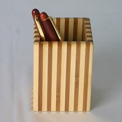 Wooden Pen Mug