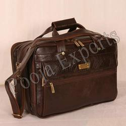 Leather Office Laptop Bag ( Product Code: JR81)
