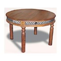 Rounded Iron Mesh Dining Table