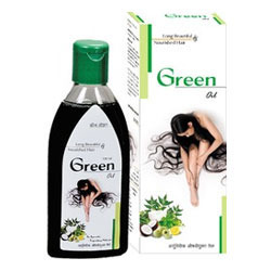 Green Hair Oil