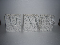 Glitter Printed Bags