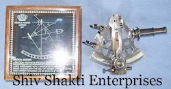 Antique Sextant With Engraving Box